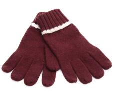 TIPPED STRIPE GLOVES